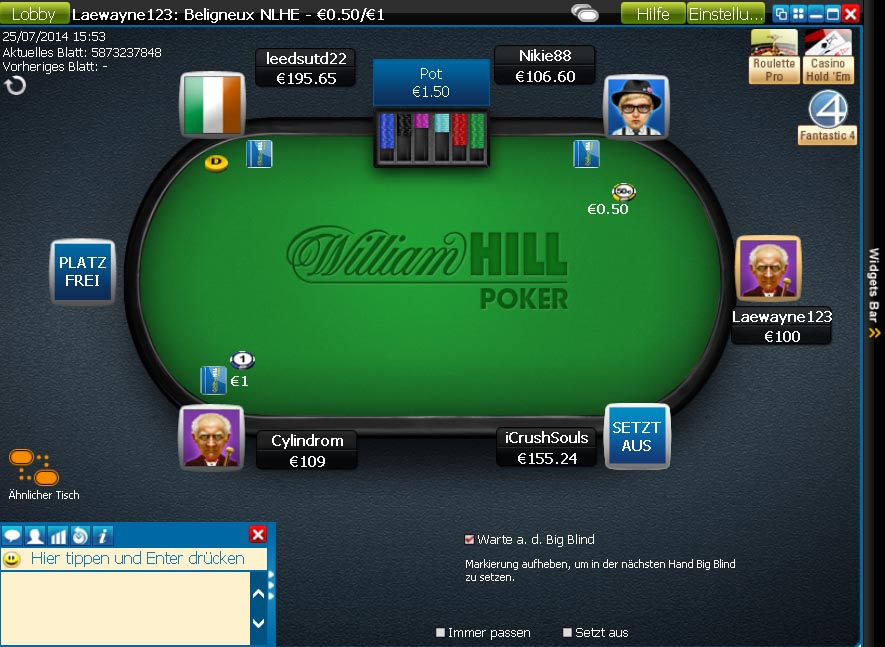 Party poker final table deal making possible