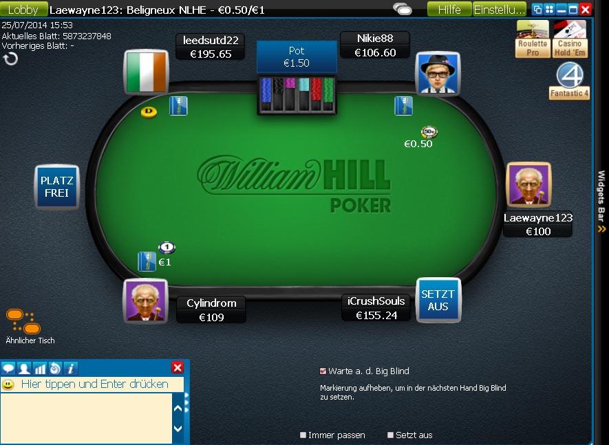 Poker traffic room