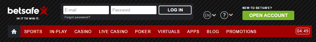 Betsafe Poker Registration