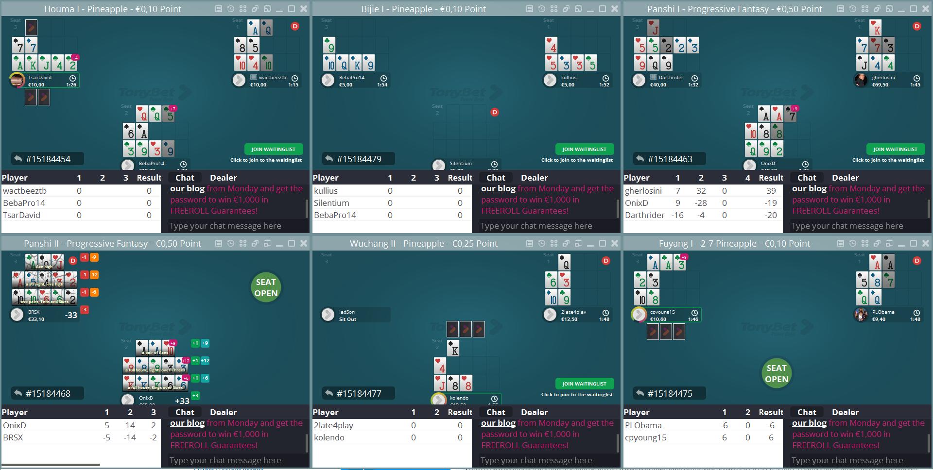 tonybet poker tracker