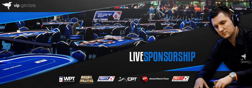 VIP-Grinders Live Sponsorship