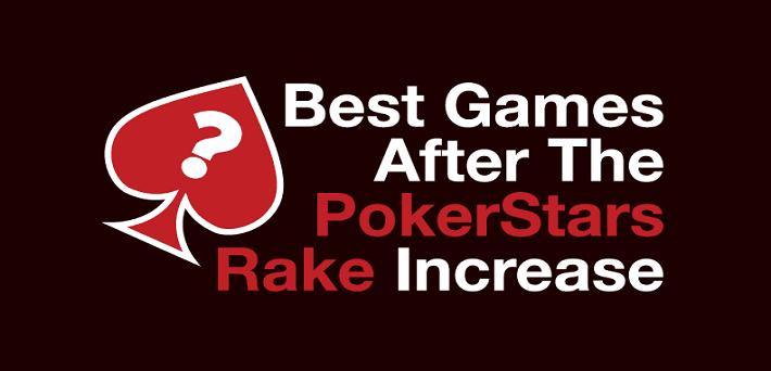 pokerstars rake