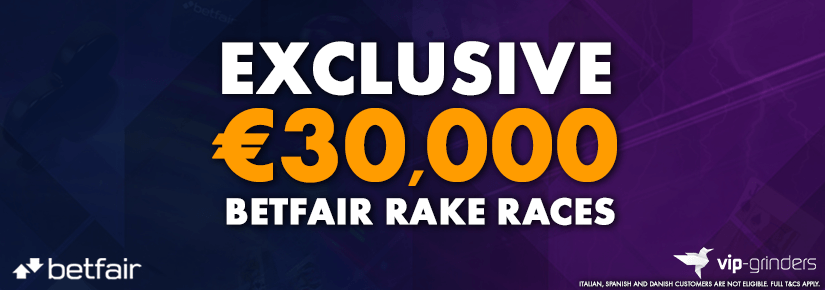 Exclusive €30,000 Betfair Races February