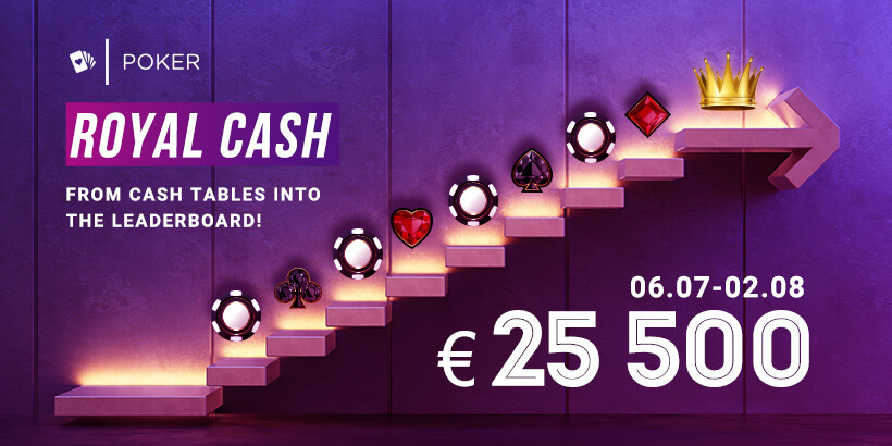 Royal Cash €25 500
