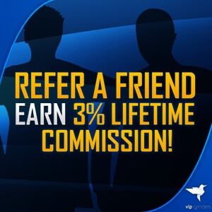 Refer a Poker Friend and get 3% Lifetime commission!