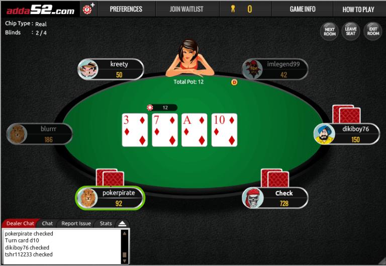 Adda52 poker free 100 cine casino auxerre programme