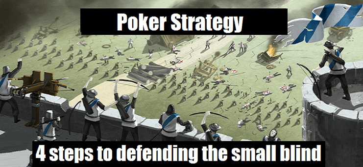Best strategy for small poker tournaments