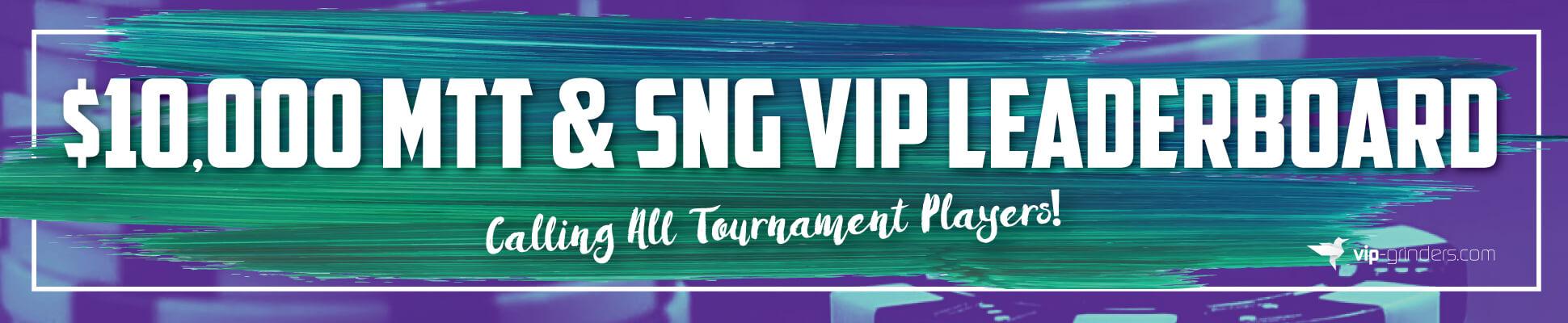 10k MTT SNG VIP-Leaderboard