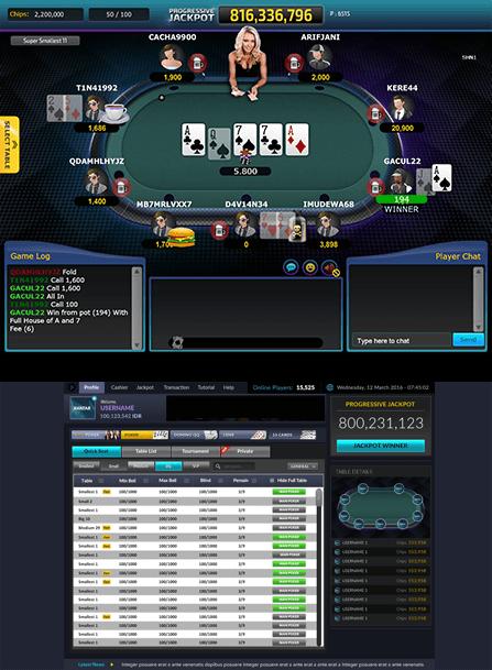 IDN Poker Lobby