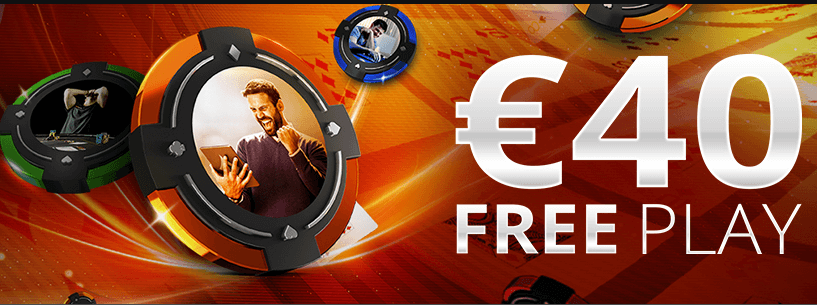 partypoker €40 Free Play