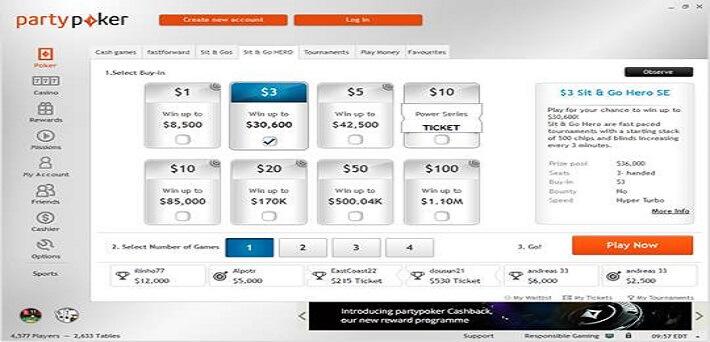 bwin poker website