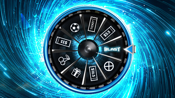 888Poker Lucky Blast Spin