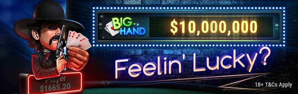 pokerok big hand jackpot