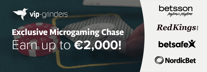 Exclusive microgaming chase