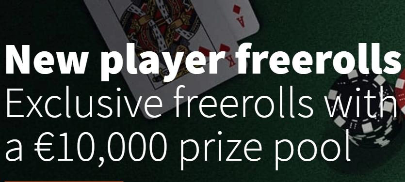 betsson new players freerolls