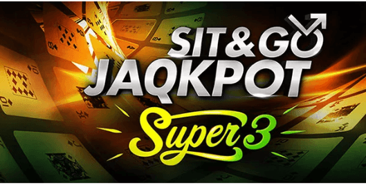 partypoker SNG JAQKPOT Super 3