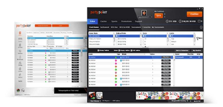 Partypoker software