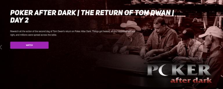 PokerGO Poker After Dark