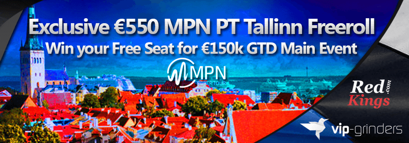 Exclusive €550 MPN PT Tallinn Freeroll