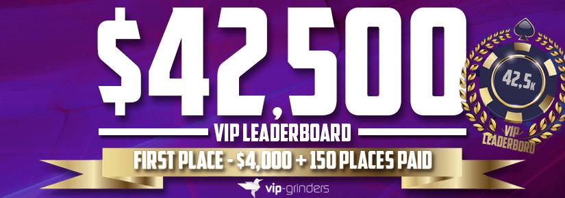 $42,500 VIP Leaderboard November