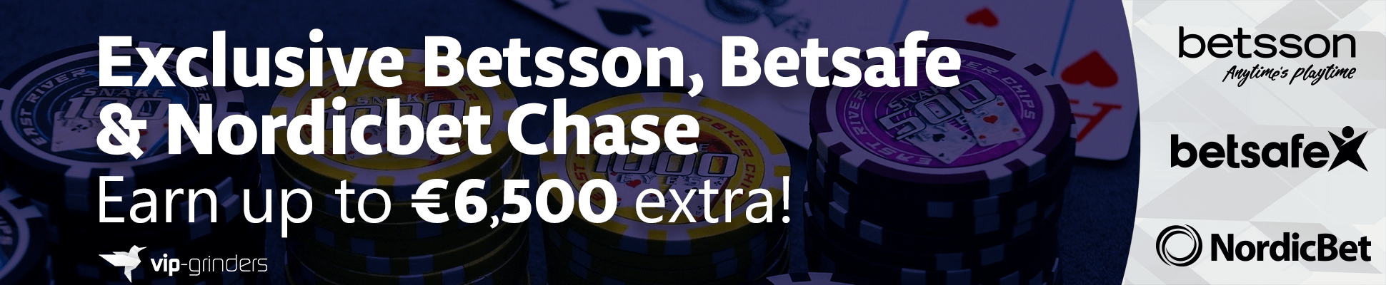 Exclusive Betsson, Betsafe Nordicbet Chase 1940