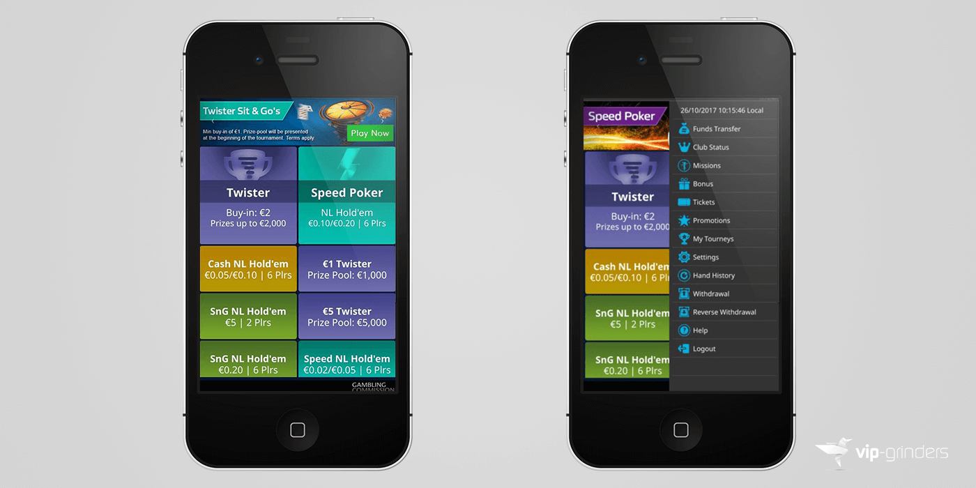 William hill poker android app