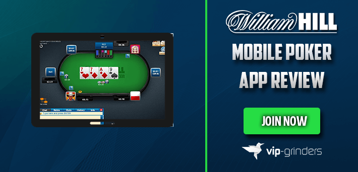 William Hill Mobile Poker