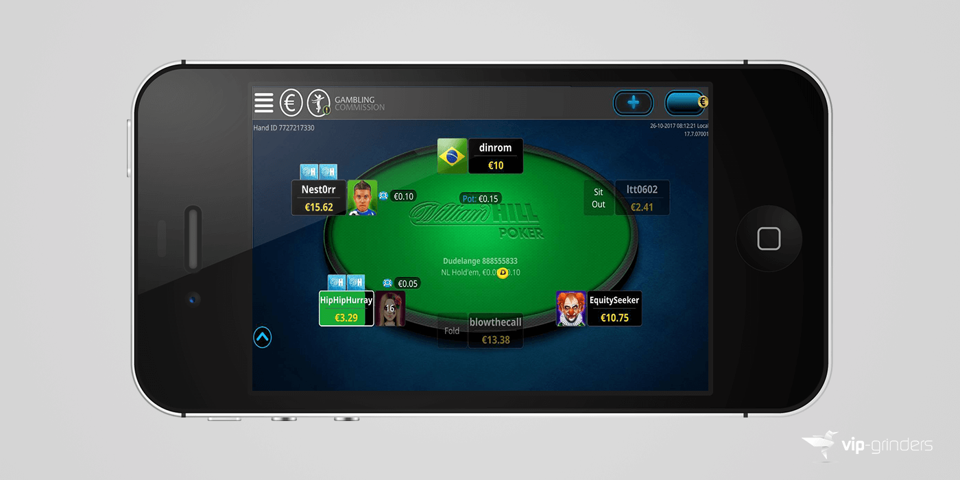 William hill poker mac os x