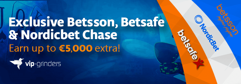 Exclusive Betsson, Betsafe & Nordicbet Chase January