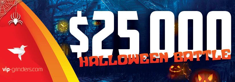 $25,000 Halloween Battle - 825x90