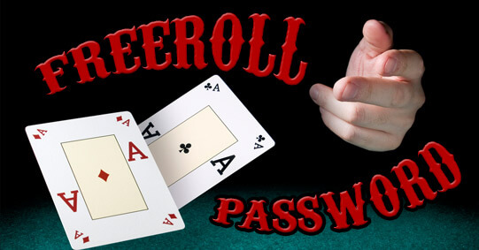 Freeroll Passwords