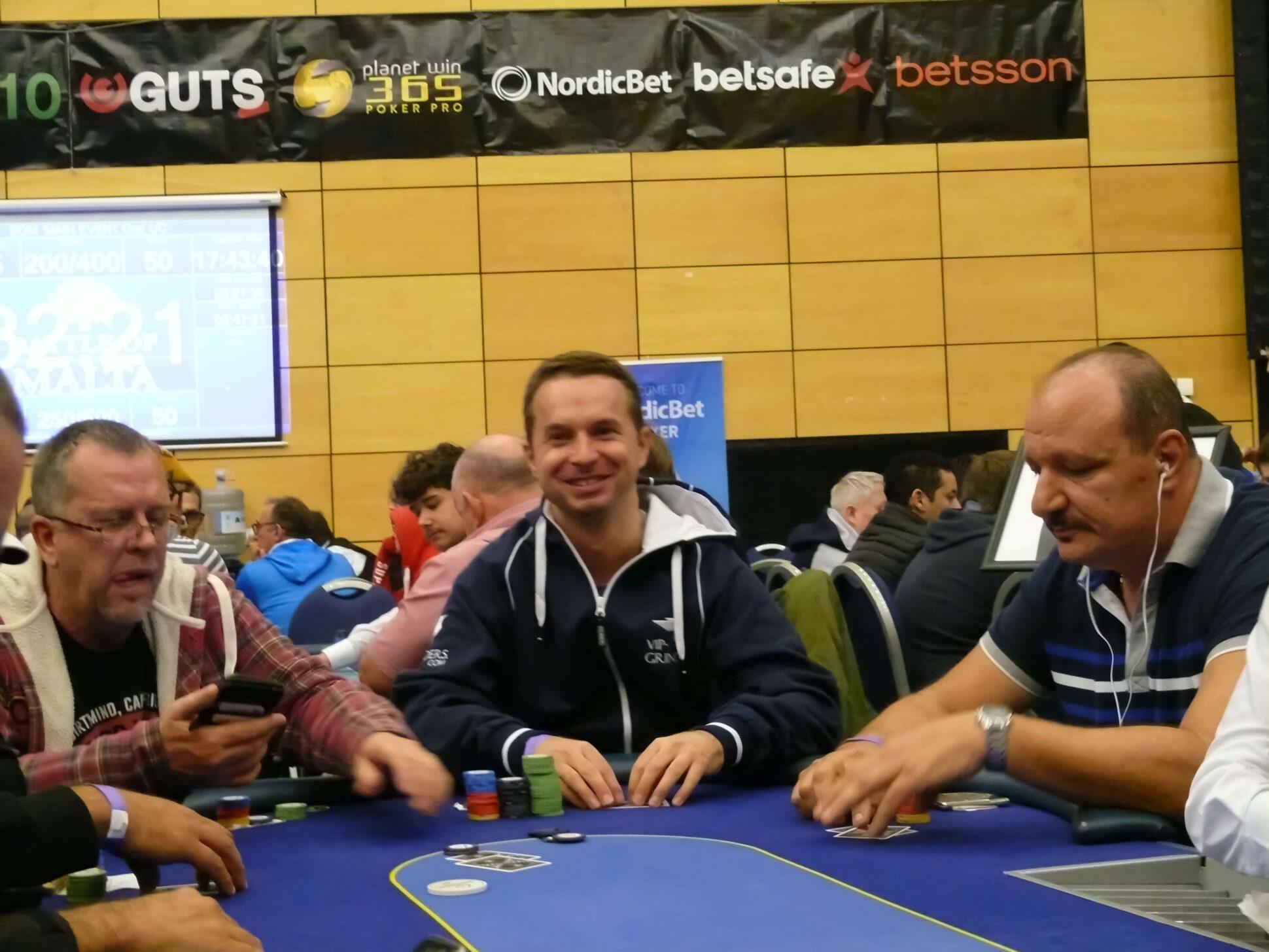 Lars Liedtke Poker Battle of Malta 2017