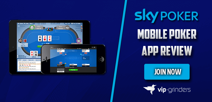 Sky Mobile Poker App Review