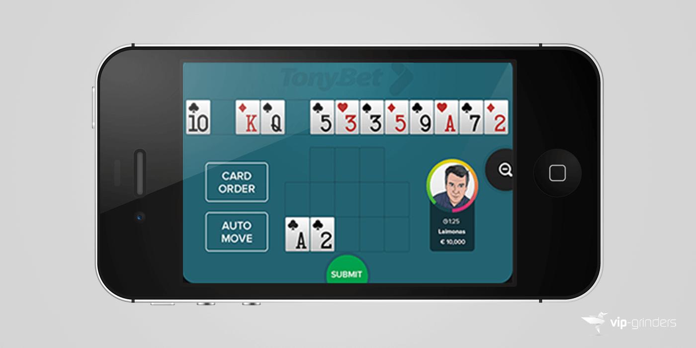 poker vip tonybet