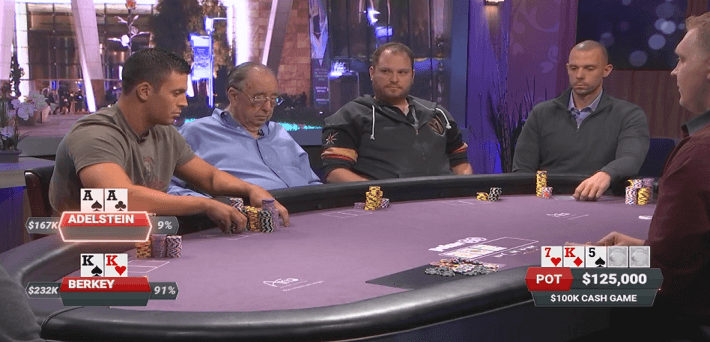 Watch the biggest pots of Poker After Dark Leave it to Seiver