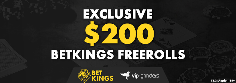 Betkings Poker Freeroll
