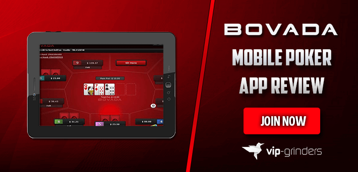 Bovada Mobile Poker App Review - Conducted by VIP-Grinders com