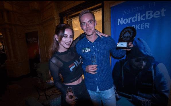 Espen Uhlen Jørstad Uhlenpoker Rising Star Award