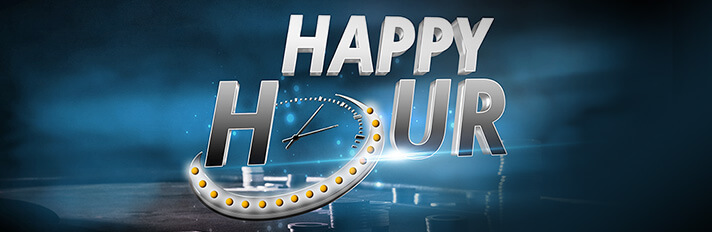 Earn Double Cashback Points during Happy Hour at Partypoker