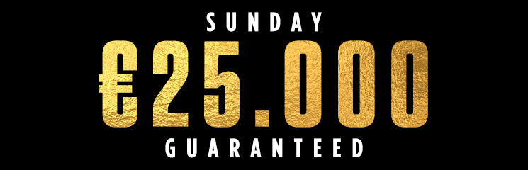Competition of the Week – Win Tickets for the €25k Sunday Premium, the biggest Guarantee at Coral Poker!
