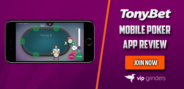 Tonybet Mobile Poker App Review