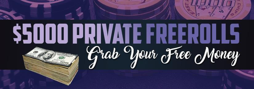 Private Freerolls