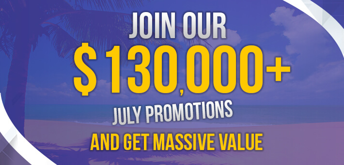 More than $130,000 in VIP-Grinders Promotions July!