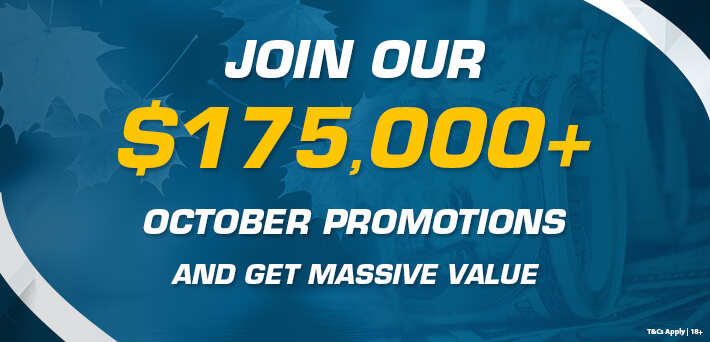 More than $175,000 in VIP-Grinders Promotions October!
