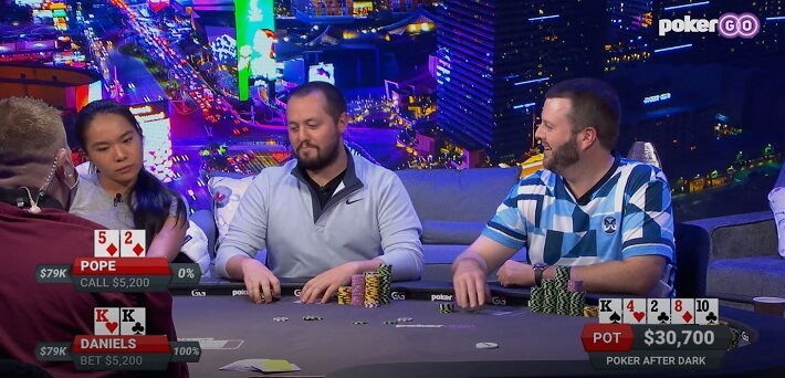 Poker Hand of the Week – Jake Daniels gets maximum value with top set