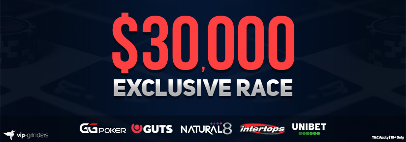 $30,000 Exclusive Race October