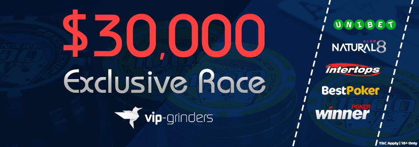 $30,000 Exclusive Race April