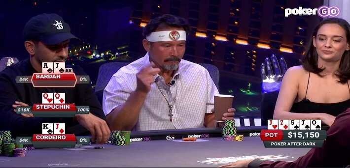 Poker Hand of the Week – Three huge hands end in crazy Roller Coaster Runout at Poker After Dark