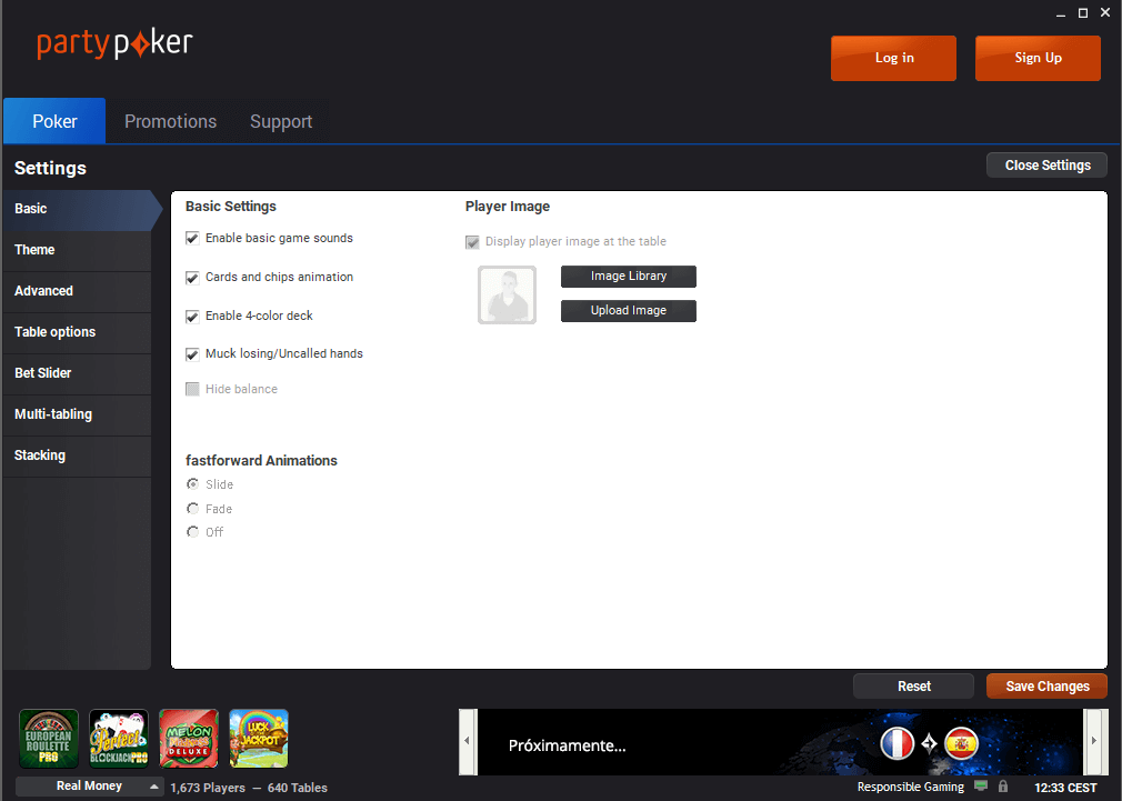 Partypoker.es-review-settings