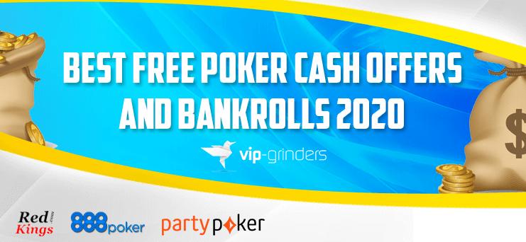 The Best Free Poker Bankrolls And No Deposit Poker Bonuses